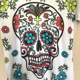 Sugar Skull T-Shirt Day of the Dead - The Little Pueblo