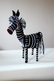 Zebra Animal Stuffed Mexican Chiapas Handmade Cute Children's Gift Mexico Hecho A Mano Animalito Cebra - The Little Pueblo