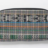 Bag - Floral Embroidered Pouch Cosmetic Bag - The Little Pueblo