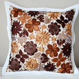 Mexican Pillow Cover Oaxaca Handmade Embroidered Decorative Pillow Case - The Little Pueblo