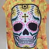 Sugar Skull Day of the Dead Tank Top Halloween Dia De Los Muertos - The Little Pueblo
