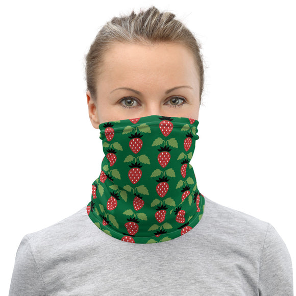 Strawberry Neck Gaiter Face Mask Balaclava - The Little Pueblo