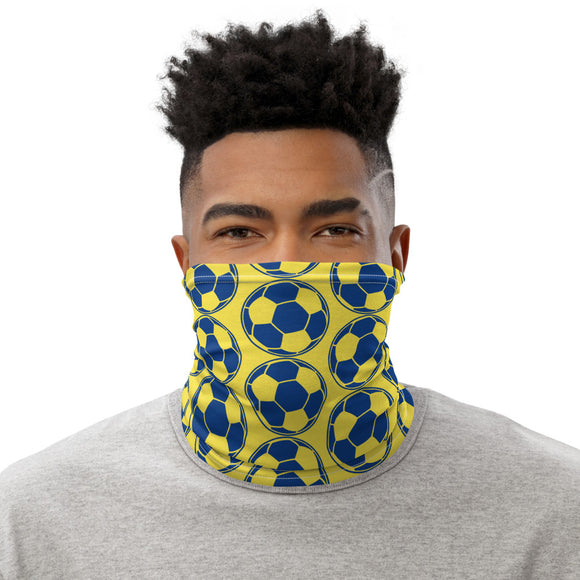 Football Soccer Neck Gaiter Unisex Face Mask Sunshield Bandana Scarf - The Little Pueblo