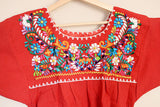 50%+ OFF SALE Traditional Mexican Embroidered Shirt - The Little Pueblo