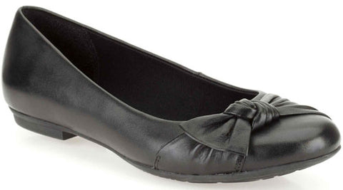 895c1acc3ffa Clarks UNA AMY Girls School Shoes Black Leather Ballet Flats Dress Various  Sizes