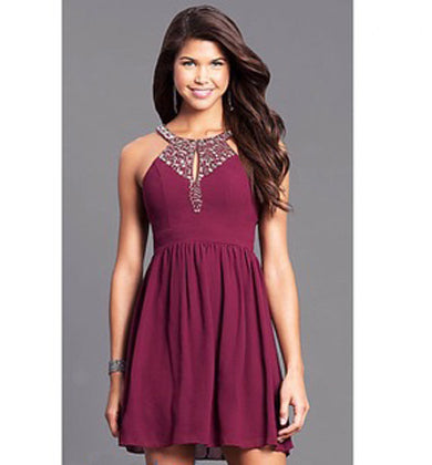 Simple cute formal dress
