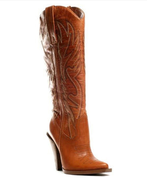 highheel party boho cowboy Boots