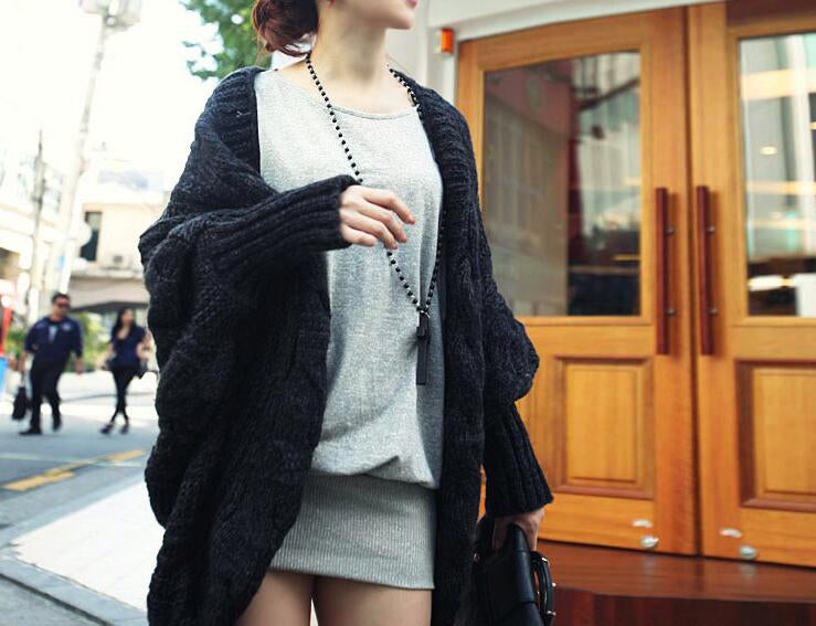 Knitted Cardigans Coat