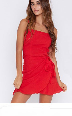 Lovely Red wrap dress