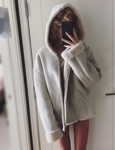Lux Hood cute Jacket