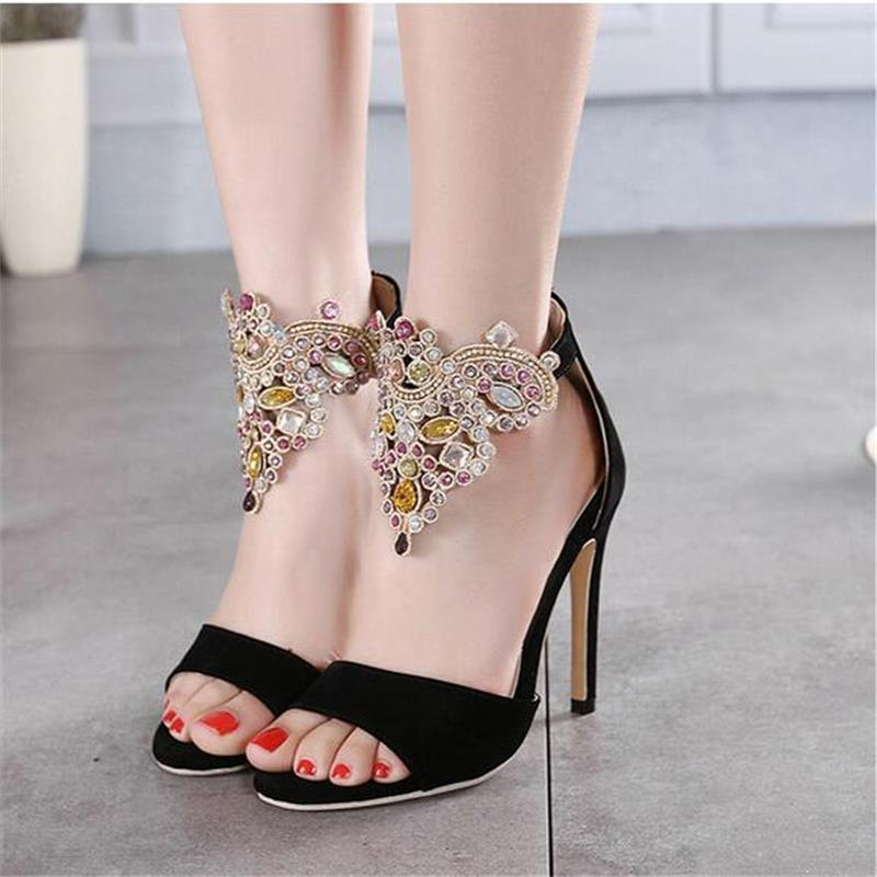The Diamond Flock High Heels