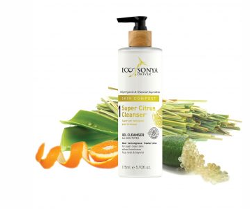 ÉCO SONYA Super citrus cleanser (gel nettoyant) ecotan/ gel cleanser