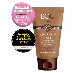 ECOTAN Crème auto-bronzante médium/dark INVISIBLE TAN