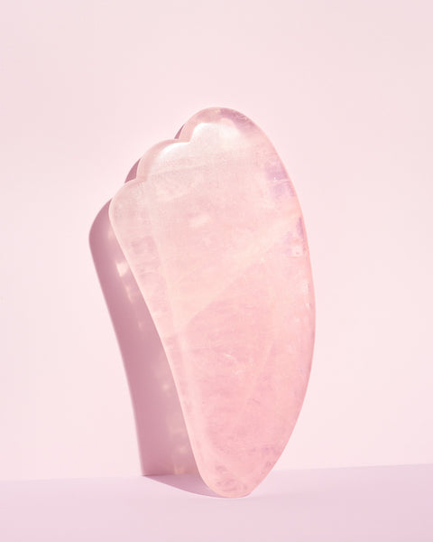 Quartz rose Gua Sha