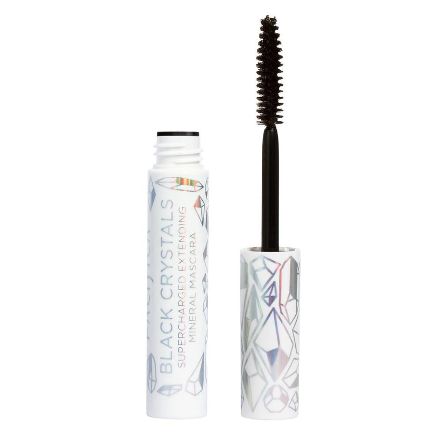 Black crystal mascara