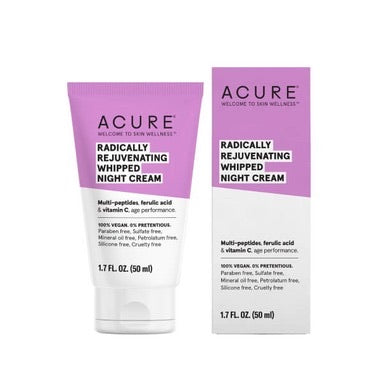 ACURE Crème de nuit fouettée radicalement rajeunissante / Radically rejuvenating whipped night cream