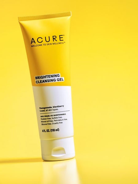 ACURE Gel nettoyant éclaircissant  / Brightening cleansing gel