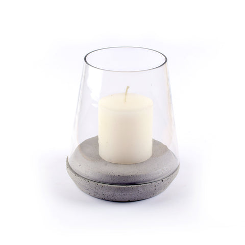 Cement Candle Holder - Crank Furniture Co.