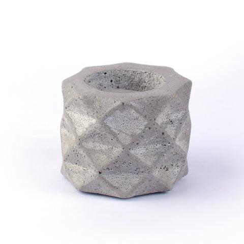 Cement Tealight Holder - Crank Furniture Co.
