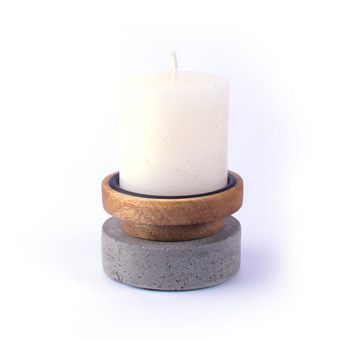 Pillar Candle Holder - Crank Furniture Co.