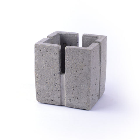 Cement Stationery Holder - Crank Furniture Co.