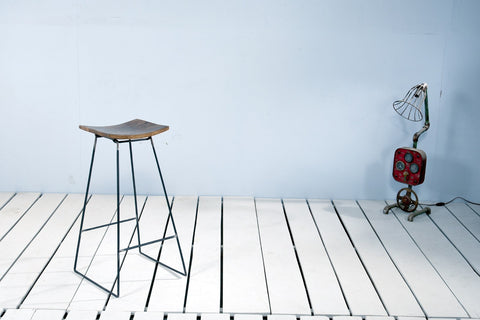 Trinity Bar Stool x 2 - Crank Furniture Co.