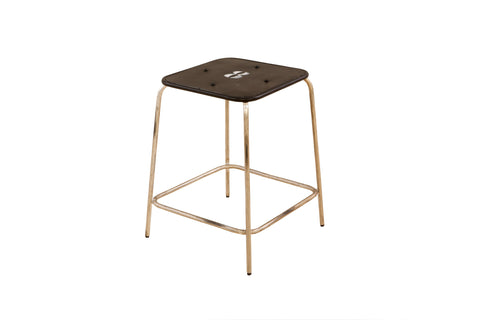 Iron Café Stool x 2 - Crank Furniture Co.