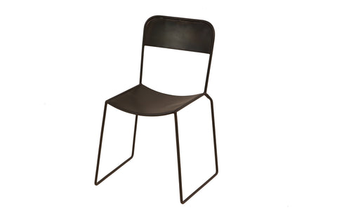 Lucas Bros. Dining Chair x 2 - Crank Furniture Co.