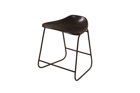 Early Century Clerks Canteen Low Stool - Crank Furniture Co.