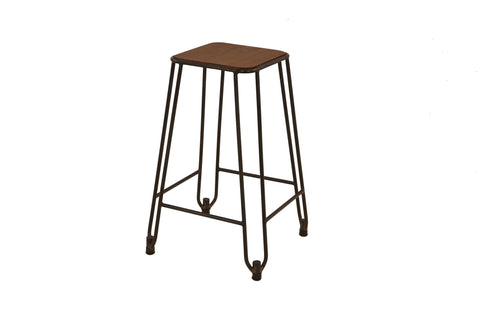 Birkin Kitchen Counter Height Stool x 2 - Crank Furniture Co.