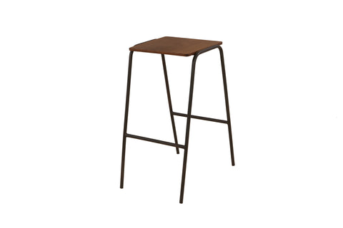 Ladder Kitchen Counter Height Stool x 2 - Crank Furniture Co.