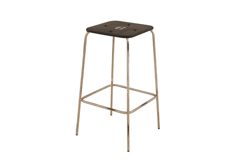 Iron Kitchen Counter Height Stool x 2 - Crank Furniture Co.
