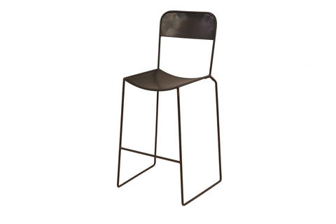 Lucas Bros. Kitchen Counter Height Chair / Stool x 2 - Crank Furniture Co.