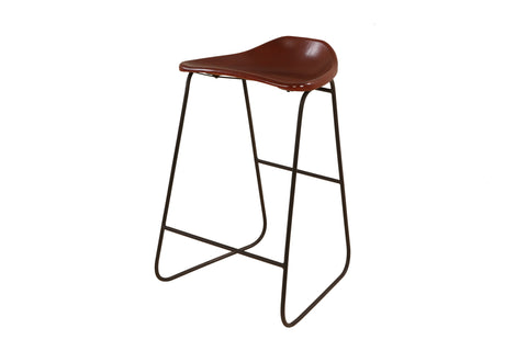 Early Century Clerks Kitchen Counter Height Stool - Crank Furniture Co.