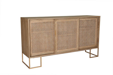 3 Sliding Door Sideboard - Crank Furniture Co.
