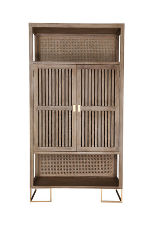 Bar Cabinet With Wine Storage - Crank Furniture Co.