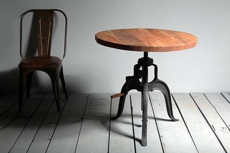 Industrial Cast Iron Crank Table - Crank Furniture Co.