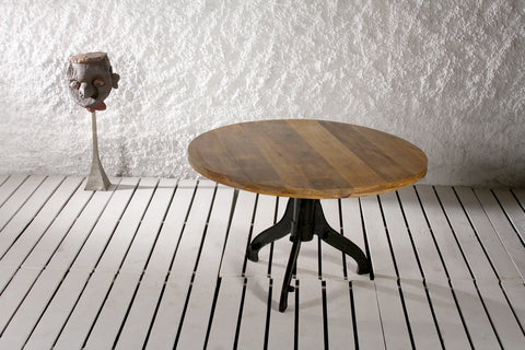Industrial Granville Swag Communal Table - Crank Furniture Co.
