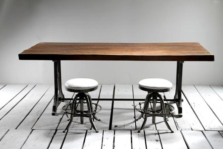 Industrial Singer Frame Communal Table