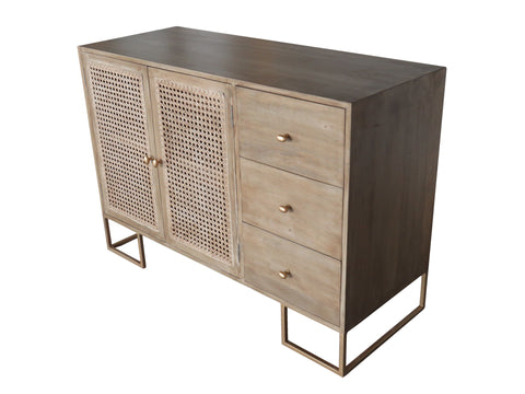3 Drawer + 2 Door Sideboard - Crank Furniture Co.