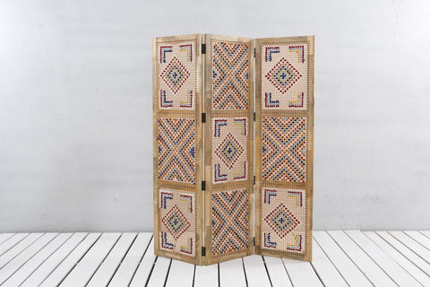 Square Weave Wall Divider - Crank Furniture Co.