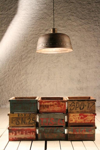 Drummil Band Industrial Ceiling Light - Crank Furniture Co.
