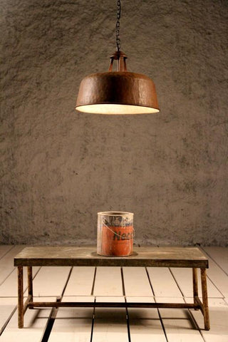 Drummil Open Neck Industrial Ceiling Light - Crank Furniture Co.