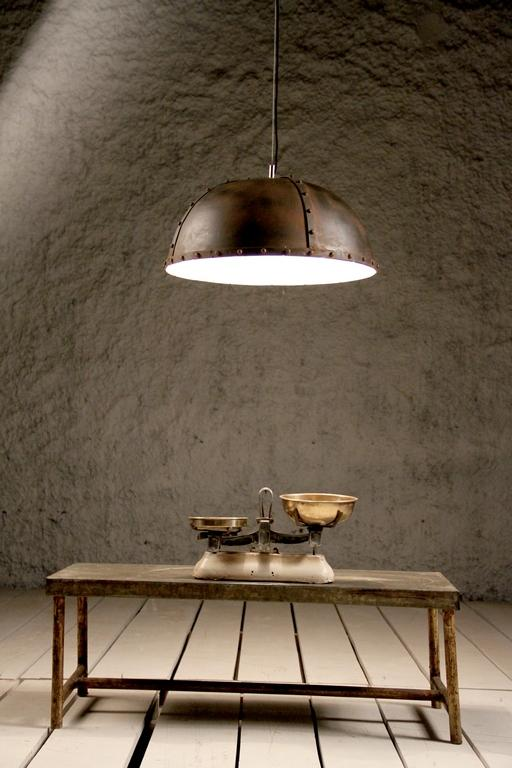 Industrial Rivet Ceiling Light (B)