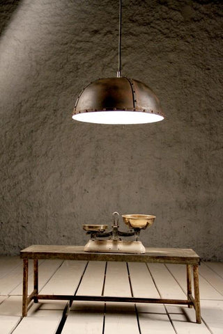 Industrial Rivet Ceiling Light (B) - Crank Furniture Co.