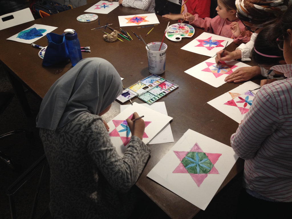 Workshop on Islamic Patterns - for kids