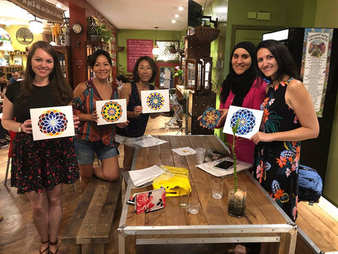 Learn beautiful patterns of Islamic Art - at Gamerz Cafe