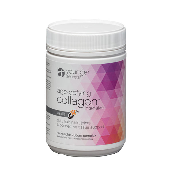 age-defying collagen intensive vanilla powder...  One months supply