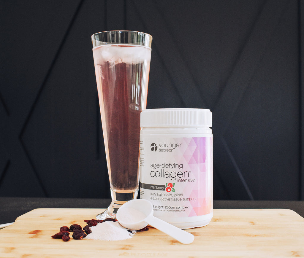 age-defying collagen™ intensive cranberry powder.... One months supply