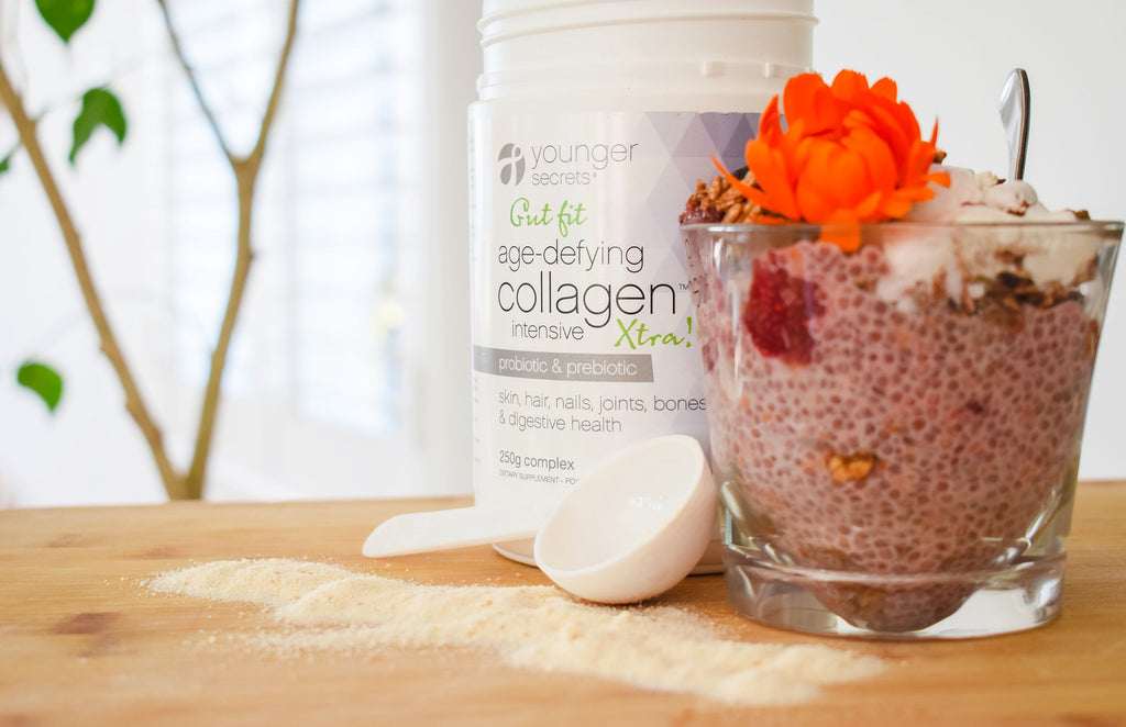 Age-Defying Collagen™ Xtra! Antioxidant Essential Starter Pack (Turmeric, Body fit, Gut fit, Supa-Greens or Stress Less)
